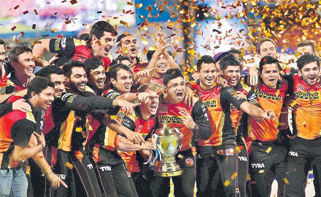 Hyderabad team champion in 2016 - Sakshi
