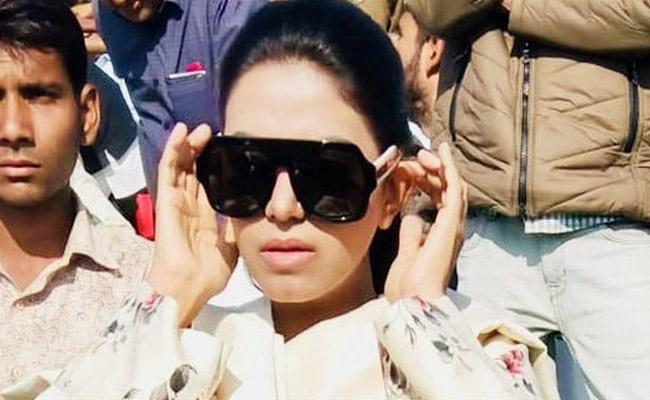 Rajasthan Lawmaker Asks Woman Sarpanch To Sit On Floor - Sakshi