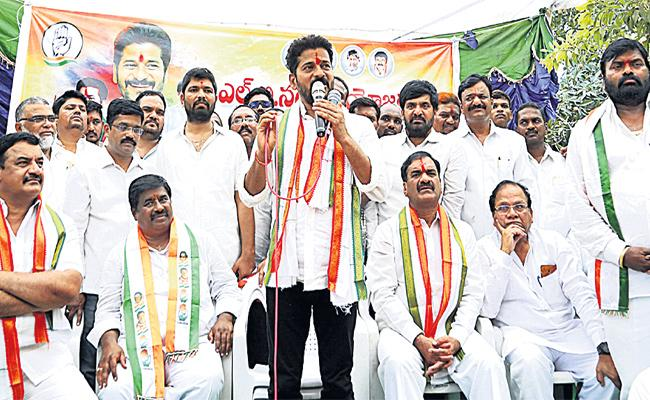 Revanth Reddy Challenge to KCR In Malkajgiri Meeting - Sakshi