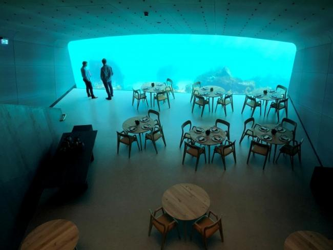 Europe Kicks Off First Underwater Restaurant in Norway - Sakshi