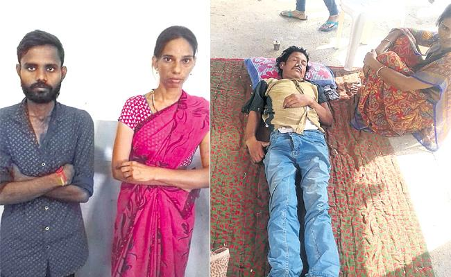 Wife And Daughter Killed Husband in Hyderbad - Sakshi