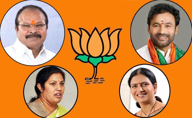 BJP Announces AP Telangana MP Candidates List - Sakshi