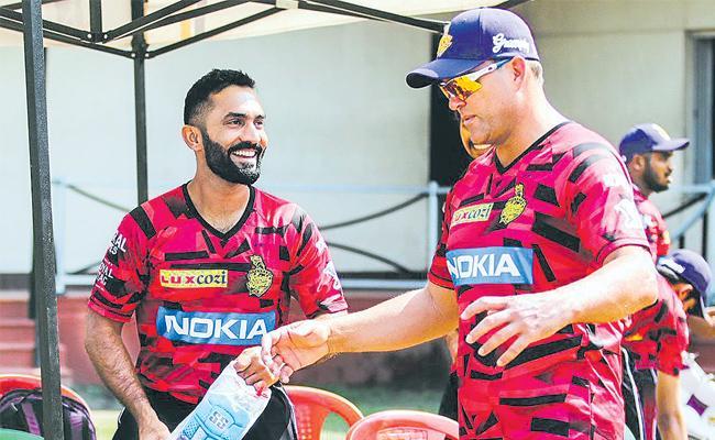 IPL 2019: Spinners Key as Kolkata Knight Riders Eye Title Run - Sakshi