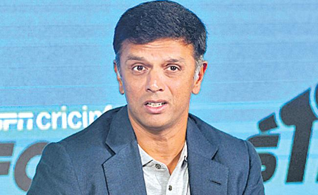 India has to play the World Cup very, very well: Rahul Dravid - Sakshi