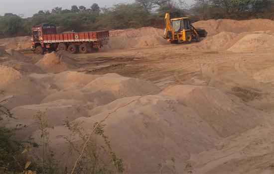 Sand Mining In Srikakulam - Sakshi