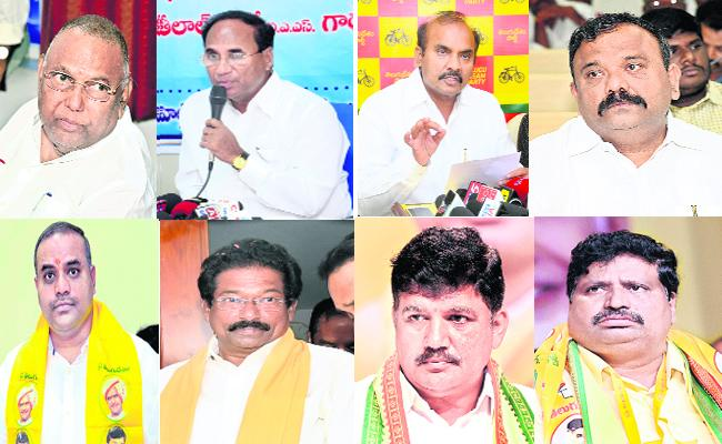 TDP  Candidates Are Being With Full Of Criminal Records - Sakshi