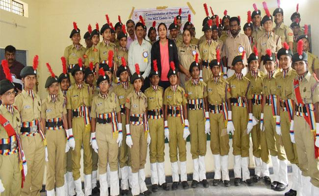 Ncc Students Equal To Police Force Said By SP  Apoorvarao - Sakshi