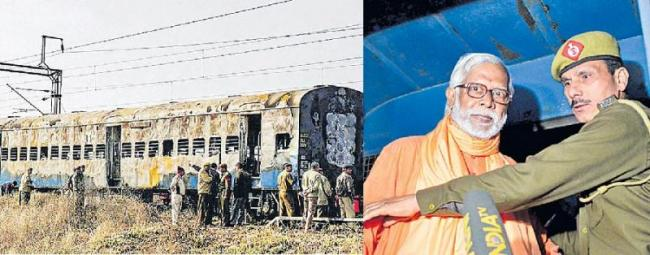 Swami Aseemanand and others acquitted in Samjhauta Express blast case - Sakshi