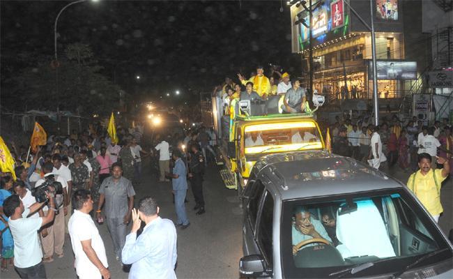 CM Chandrababu Election Campaign In Vizianagaram - Sakshi