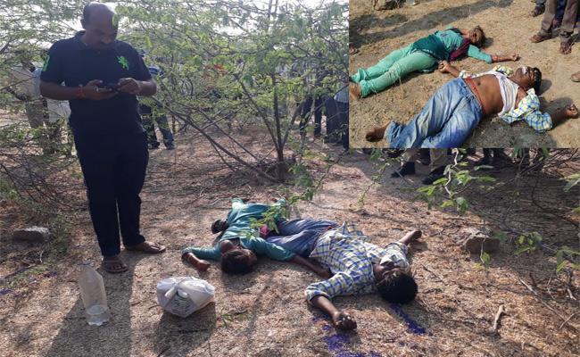 Lovers Suicide Attempt In Mahabubnagar - Sakshi