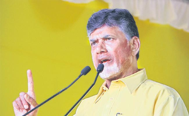 Chandrababu controversial comments on election campaign - Sakshi