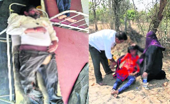 Father And Daughter Died in Road Accident Chitoor - Sakshi