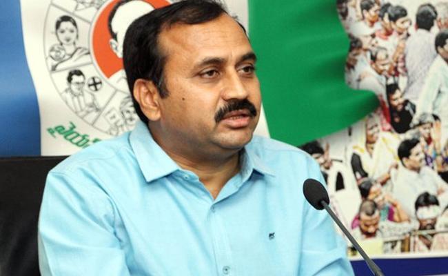 Mangalagiri YSRCP MLA Candidata Alla Ramakrishna Reddy Files Nomination - Sakshi