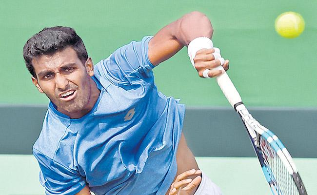 Prajnesh Gunneswaran advances to Miami Open main draw - Sakshi