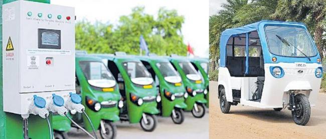 three-wheel electric vehicle enters the last-mile delivery fray - Sakshi