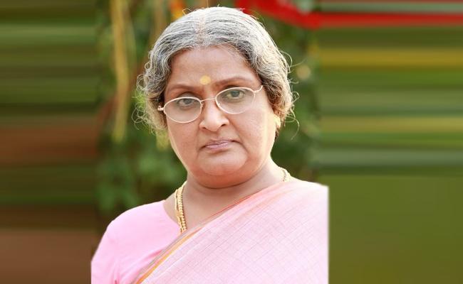 Robbery in Senior Actress vadivukkarasi Home - Sakshi