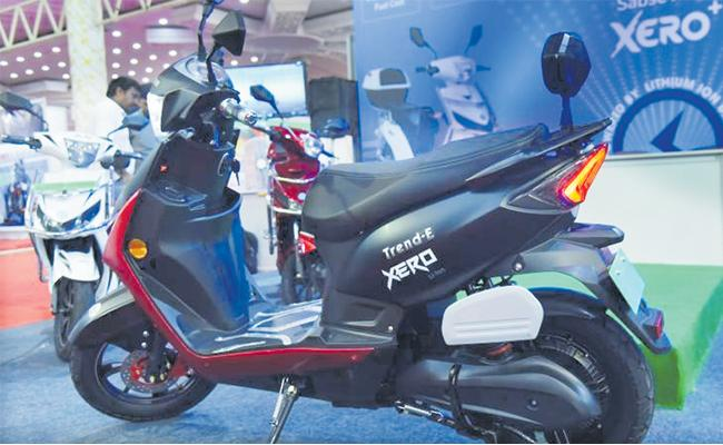 Avan Motors launches electric scooter Trend E at Rs 56900 - Sakshi