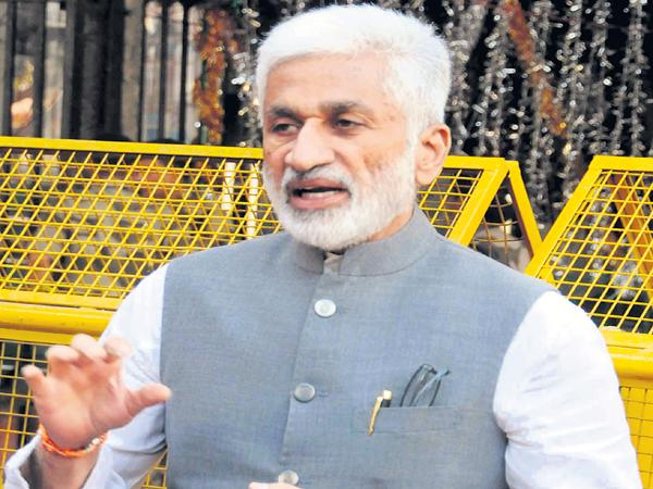 Vijayasai Reddy complaint to the Chief Election Commissioner On TDP - Sakshi