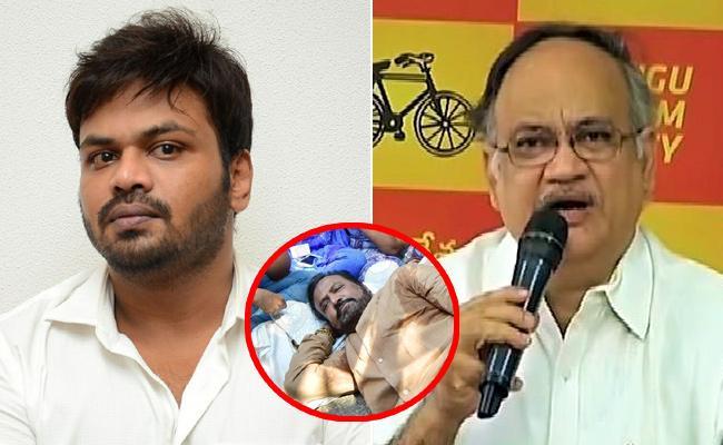 Manchu Manoj Fires On TDP Kutumba Rao - Sakshi