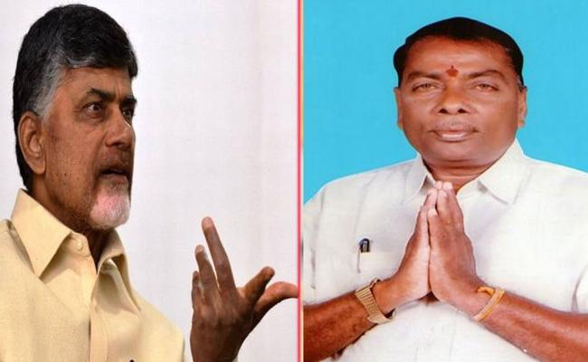 P Gannavaram MLA Pulaparthi Narayana Murthy Quits TDP - Sakshi