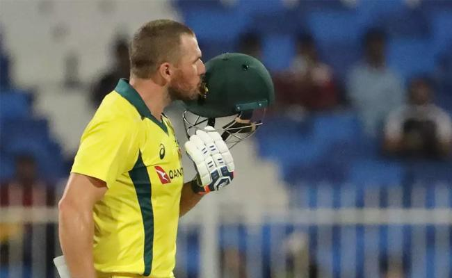 Finch century leads Australia to comfortable eight wicket win - Sakshi