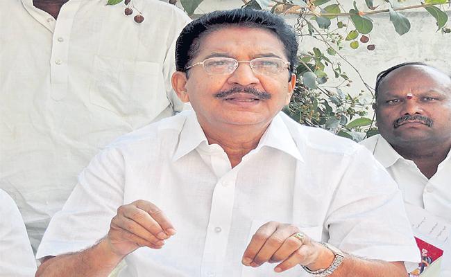 The Constitutional Position That Doing Chennamaneni Vidyasagar Rao - Sakshi
