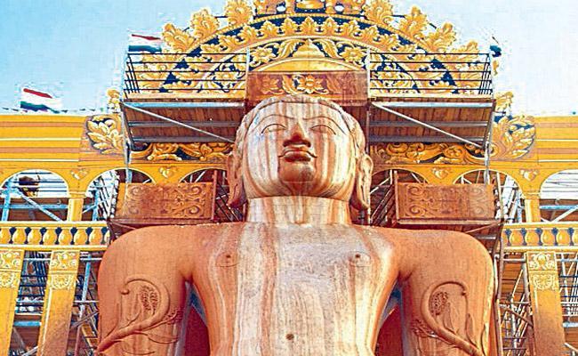 gommateshwara statues in karnataka - Sakshi