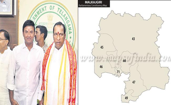 Malkajgiri Parliamentary Constituency Is Becoming Tough Fight For Malla Reddy - Sakshi