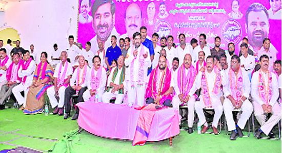 Trs  Party Strategic On Election Public Meetings - Sakshi