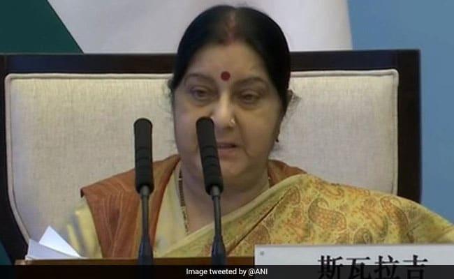 Sushma Swaraj Seeks Report On Alleged Kidnapping Of Hindu Girls In Pak - Sakshi