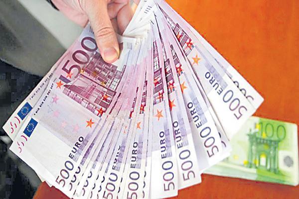 50 thousand euros has been Theft - Sakshi