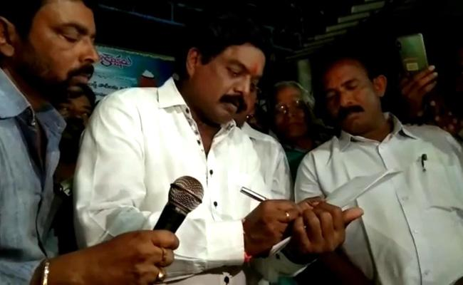 Kothapalli Subbarayudu quits TDP, join his ysr congress party - Sakshi