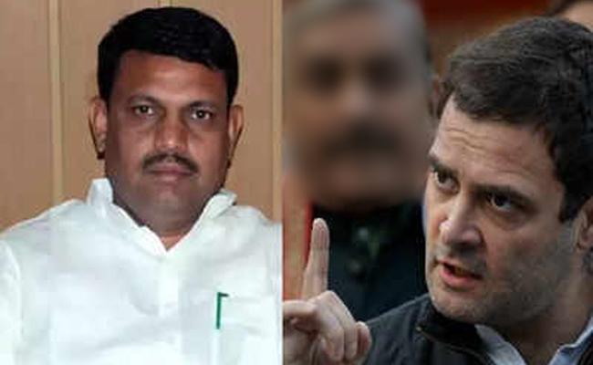 Gujarat Minister Fires On Rahul Gandhi Over Shiv Avatar - Sakshi