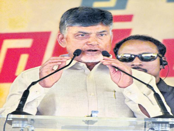 Chandrababu violated the election code - Sakshi