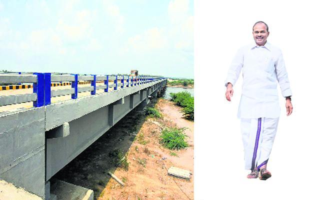 Chinagollapalem Island Bridge Construction Credit Goes To YS Rajashekar Reddy - Sakshi