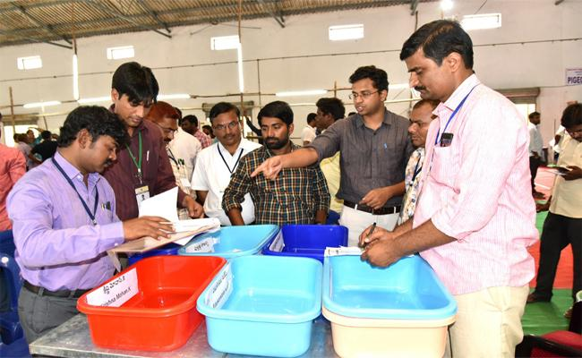 Counting Of Mlc Votes In a Strict Manner - Sakshi
