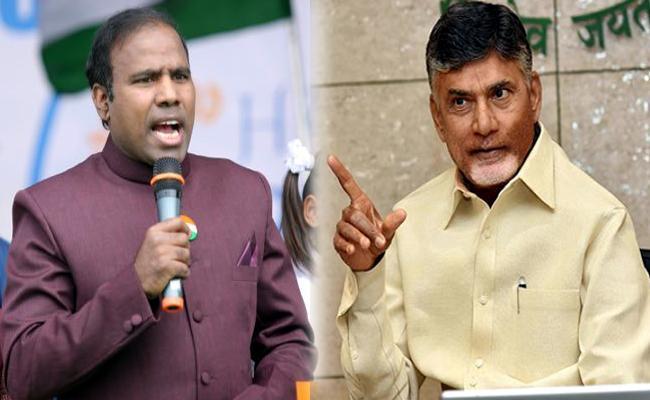 TDP Worker Nomination On Behalf Of Praja shanti Party - Sakshi