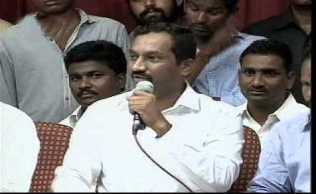 BJP MP Candidate Raghunandhan Rao Slams KTR In Sadasivpet - Sakshi