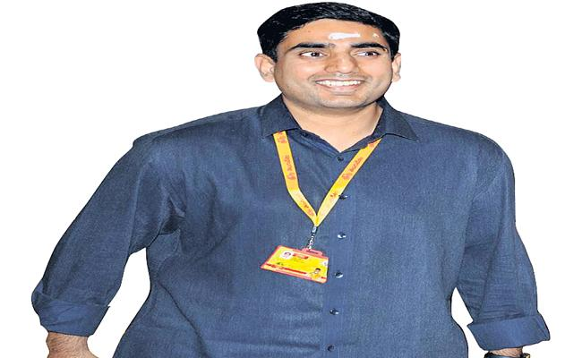Social Media Locks in The State is Playing 'Troling Star' Lokesh Babu - Sakshi