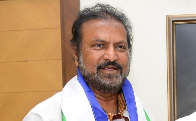Manchu Mohan Babu Joins In YSR Congress Party - Sakshi