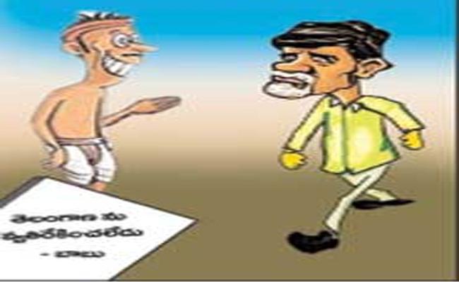 Chandrababu Is Reason For Separate Telangana - Sakshi