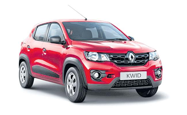 Renault to increase Kwid prices by up to 3% from April - Sakshi