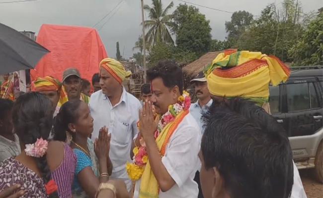 Kuppam TDP Candidate Janardhan Rejected By Returning Officer - Sakshi