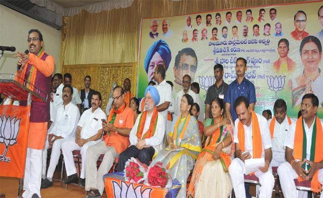 Mahabubnagar MP Will Be DK Aruna - Sakshi