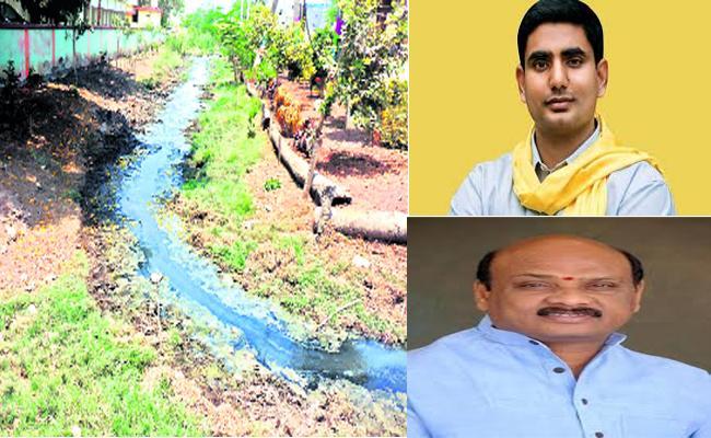 Chandrababu Not Developed Drainage System  - Sakshi