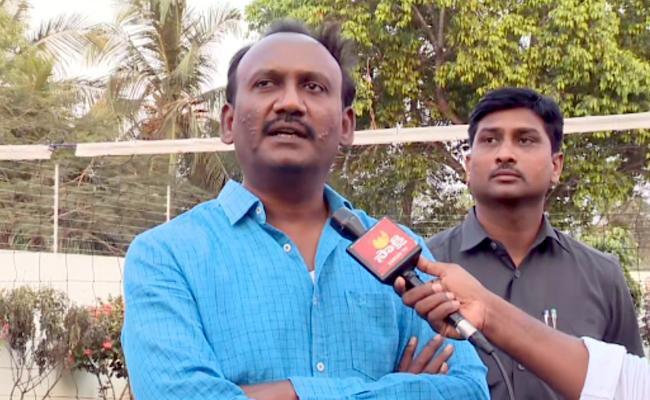 Amanchi Krishna Mohan Slams On Chandrababu Naidu - Sakshi