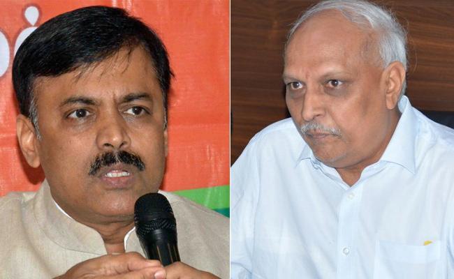 GVL Narasimha Rao Slams Chandrababu - Sakshi