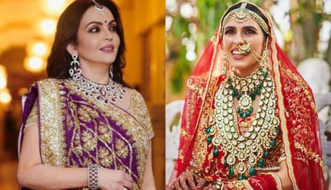 Nita Ambani Gave Her Daughter-In-Law, Shloka Mehta A Wedding Gift Worth Rs 300 Crore - Sakshi