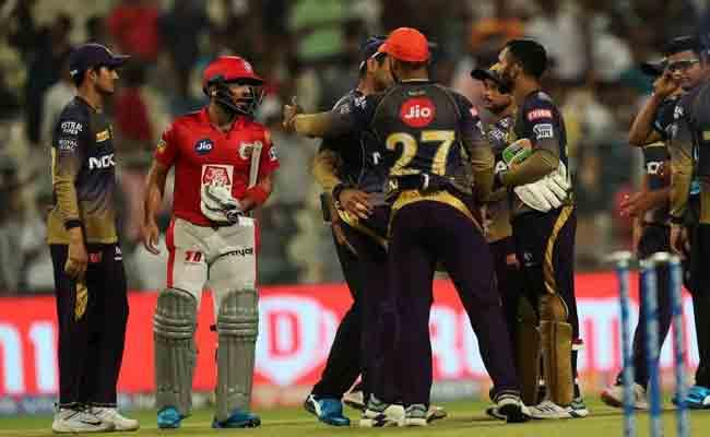 IPL 2019 KKR Claims A 28 Runs Victory Against Kings Punjab - Sakshi