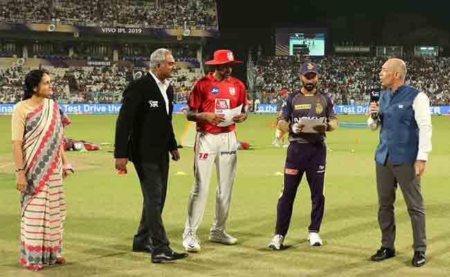 IPL 2019 Punjab Won The Toss And Elected To Bat First Against KKR - Sakshi